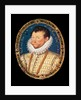 Portrait of Sir Francis Drake, 1581 by Nicholas Hilliard