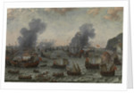 The Battle of Gibraltar, 25 April 1607, c. 1617 by Adam Willaerts