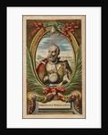 Portrait of Ferdinand Magellan, 1671 by John Ogilby
