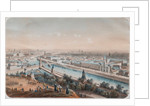 Panoramic view of Moscow, 1820s by Isidore Laurent Deroy