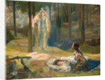The Revelation. Brunhilde Seeing Siegmund And Sieglinde, 1893 by Gaston Bussière
