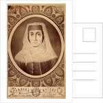 Portrait of Mariam Tsitsishvili, Queen of Georgia, Second Half of the 19th century by Alexander Solomonovich Roinov