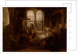 Christ Conversing with Martha and Mary, ca 1652 by Rembrandt van Rhijn