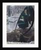 The Death of the Grave Digger (La mort du fossoyeur), 1895-1900 by Carlos Schwabe