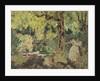 Misia in the Woods, 1897-1899 by Édouard Vuillard