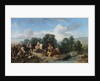 The Falconry of Sultan Ahmed III, 1873 by Stanislav Khlebovsky