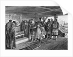 Iziaslav II Mstislavich and Viacheslav I Vladimirovich, 1890 by Klavdi Vasilyevich Lebedev