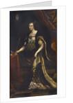 Queen Jadwiga of Poland, ca 1676 by Jan Trycjusz