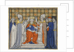 The Anointing and Coronation of Louis IV at Laon, 19 June 936 by Anonymous