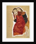 Two girls, 1911 by Egon Schiele