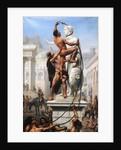 The Sack of Rome by Visigoths, 410, 1890 by Joseph-Noël Sylvestre