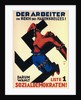 The worker under the swastika state! Therefore choose list 1, the Social Democrats!, 1932 by Karl Geiss
