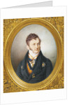 Portrait of Count Ludwig Lebzeltern, 1822 by Anonymous