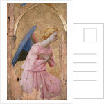 The Angel of the Annunciation, ca 1435 by Fra Giovanni da Fiesole Angelico