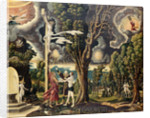 Fall and Redemption, 1535 by Georg Lemberger