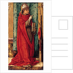 Saint Bonaventure, c. 1490 by Carlo Crivelli