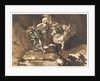 The Witches Floating Above Macbeth and Banquo by Johann Heinrich Füssli