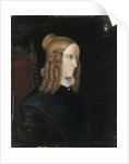 Portrait of Annette von Droste-Hülshoff, 1840 by Johann Joseph Sprick