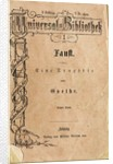 Goethes Faust I, the first volume of Reclams Universal Library, appeared on November 10, 1867, 1 by Anonymous master