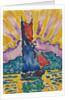Sunset (LÉventail), c. 1905 by Paul Signac