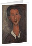Portrait of Chaïm Soutine, 1917 by Amedeo Modigliani
