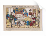 Napoleon Bonaparte on his deathbed, May 5, 1821, 1821-1822 by Vosges Imagerie d'Épinal