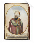 The Sultan Osman I, Early 19th century by Anonymous