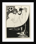 Illustration for Salome by Oscar Wilde, 1894 by Aubrey Beardsley