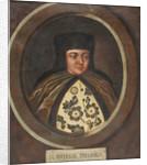 Portrait of the Tsarina Natalia Naryshkina, wife of tsar Alexis I of Russia, End of 17th by Anonymous