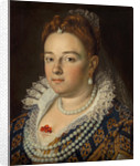 Portrait of Bianca Cappello, Grand Duchess of Tuscany, 1585-1586 by Scipione Pulzone