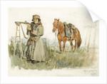 Tatar from Minusinsk, 1873 by Vasili Ivanovich Surikov