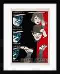 Movie poster Danger Ahead, 1927 by Georgi Avgustovich Stenberg