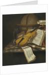 Vanitas Still Life by Edwaert Collier