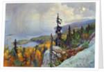 Landscape (Maisema Kolilta), 1930 by Eero Järnefelt