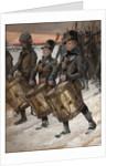 March of the Pori Regiment (Porilaisten Marssi), 1892 by Albert Gustaf Aristides Edelfelt