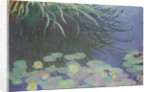 Water Lilies with Reflections of Tall Grass, 1914-1917 by Claude Monet