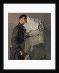 Portrait of the sculptor Ivan Dmitriyevich Shadr, 1934 by Anonymous