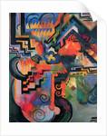 Colored Composition I (Hommage à Johann Sebastian Bach), 1912 by Anonymous