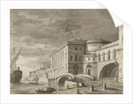 The Hermitage Theatre in Saint Petersburg (Curtain design), after 1802 by Anonymous