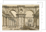 Set design for the Opera La clemenza di Tito (The Clemency of Titus) by Wolfgang Amadeus Mozart, 18t by Anonymous