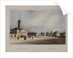 The Old Kalinkin Bridge in Saint Petersburg, 1840s by Anonymous