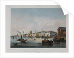 The English Embankment in Saint Petersburg, 1840s by Anonymous