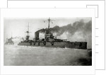 The Ice Cruise of the Baltic Fleet, The battleship Sevastopol, 1918 by Anonymous