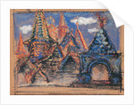 Stage design for the opera Khovanshchina by M, Musorgsky, 1902 by Anonymous