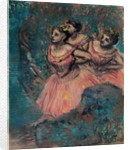 Three Dancers in Red, 1896 by Anonymous