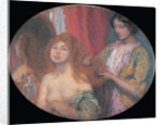Combing the Hair, c. 1912 by Anonymous