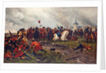 William III of England at the Battle of the Boyne by Anonymous