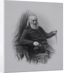 Portrait of the Decembrist count Sergey Volkonsky, 1860s by Anonymous