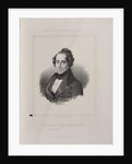 Portrait of the composer Giacomo Meyerbeer, 1841 by Anonymous