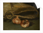Still life with bag and garlic, 1861-1862 by Anonymous